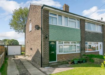 Thumbnail 3 bed semi-detached house for sale in Woodrow Drive, Bradford, West Yorkshire