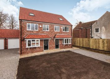 Thumbnail 4 bed semi-detached house for sale in Plot4, Main Street, Sigglesthorne, Beverley