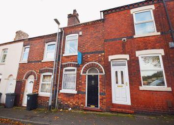 Thumbnail 2 bed terraced house for sale in Broom Street, Hanley, Stoke-On-Trent