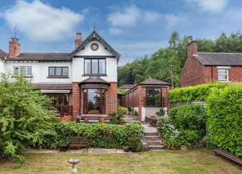 Thumbnail 4 bed cottage for sale in Wood Road, Longsdon, Stoke-On-Trent