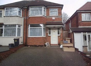 Thumbnail 3 bedroom semi-detached house to rent in Calshot Road, Great Barr, Birmingham