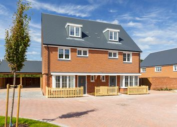 Thumbnail 4 bed semi-detached house for sale in Keepers Cottage Lane, Off Hall Road, Wouldham, Kent