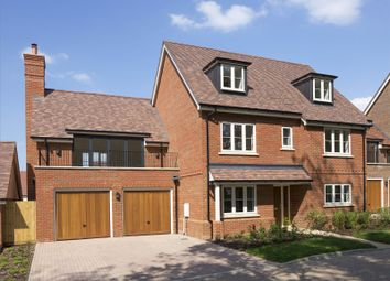 Thumbnail 5 bed detached house for sale in Fleet Road, Hartley Wintney, Hook, Hampshire
