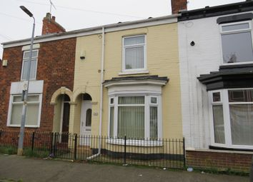 Thumbnail 3 bedroom terraced house for sale in Rosmead Street, Hull