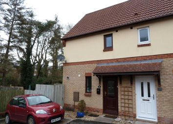 Thumbnail 2 bed end terrace house to rent in Wordsworth Close, Exmouth, Devon