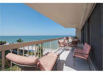 Thumbnail 3 bed town house for sale in 4005 Gulf Shore Blvd N 606, Naples, Fl, 34103