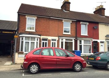 Thumbnail 3 bed end terrace house to rent in Cemetery Road, Ipswich