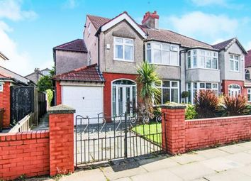 Thumbnail 5 bed semi-detached house for sale in Brentwood Avenue, Crosby, Liverpool, Merseyside