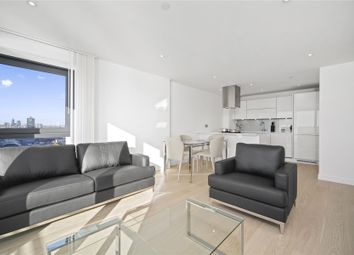 Thumbnail 2 bed flat to rent in Horizons Tower, 1 Yabsley Street, London