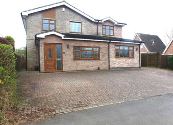 Thumbnail 4 bed detached house for sale in Copse Close, Oadby, Leicester