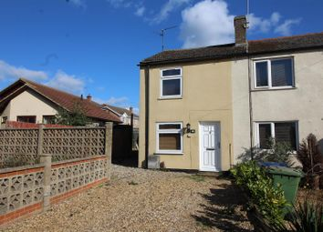 Thumbnail 1 bedroom end terrace house for sale in East Delph, Whittlesey, Peterborough