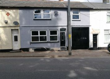 Thumbnail 3 bed terraced house to rent in Station Road, Cullompton
