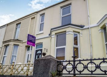 Thumbnail 2 bed terraced house for sale in Weston Park Road, Plymouth