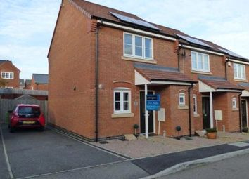 Thumbnail 2 bed end terrace house for sale in Gifford Close, Birstall, Leicester
