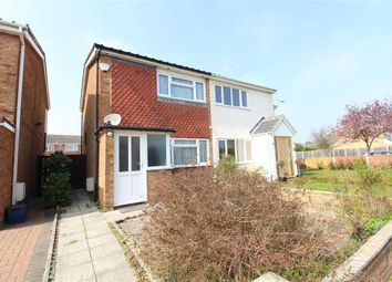 Thumbnail 2 bed semi-detached house for sale in Whistler Rise, Shoeburyness, Southend-On-Sea