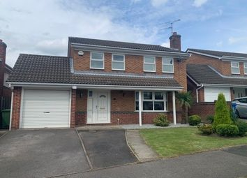 Thumbnail 4 bed detached house to rent in Healaugh Way, Chesterfield