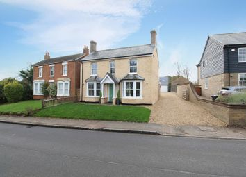 Thumbnail 4 bed detached house for sale in The Hill, Blunham