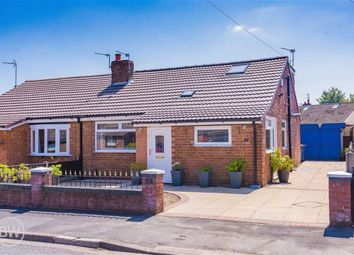 Thumbnail 3 bed semi-detached bungalow for sale in Launceston Road, Hindley Green, Wigan, Lancashire