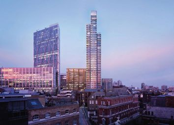 Thumbnail 3 bed flat for sale in Principle Tower, London