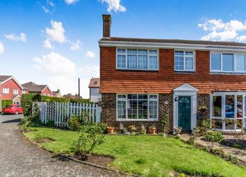 Thumbnail 3 bedroom semi-detached house for sale in St. Johns Way, Rochester, Kent