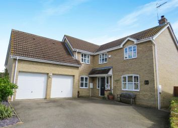 Thumbnail 5 bedroom detached house for sale in Pathfinder Way, Warboys, Huntingdon