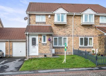 Thumbnail 3 bed semi-detached house for sale in Stepney Mews, Cwmbwrla, Swansea