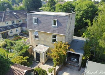 Thumbnail 4 bedroom detached house for sale in Church Road, Combe Down, Bath