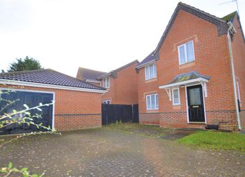 Thumbnail 3 bed detached house for sale in Hawthorn Road, Haverhill