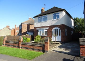 Thumbnail 3 bed detached house for sale in Silver Street, Whitwick, Leicestershire