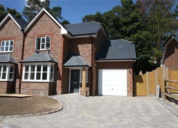 Thumbnail 4 bed semi-detached house for sale in Hamlash Lane, Frensham, Farnham, Surrey