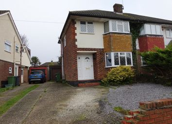 Thumbnail 3 bed semi-detached house to rent in Chandler Road, Basingstoke