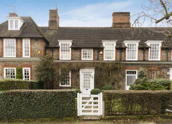 Thumbnail 4 bed terraced house for sale in Heathgate, Hampstead Garden Suburb