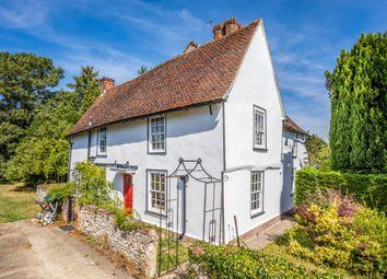 Thumbnail 4 bed detached house for sale in Radwinter Road, Ashdon, Saffron Walden