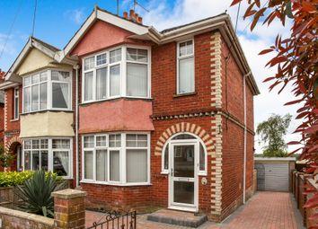 Thumbnail Semi-detached house for sale in Larkhill Road, Durrington, Salisbury