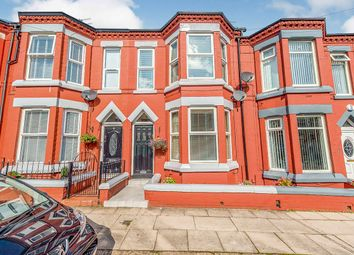 3 bed terraced house for sale in Cowper Road, Liverpool, Merseyside L13