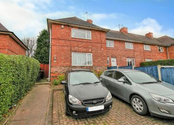 Thumbnail 3 bed end terrace house for sale in Anderson Crescent, Beeston, Nottingham