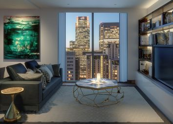 Thumbnail 2 bedroom flat for sale in Maine Tower, Harbour Central, Lighterman's Road, London