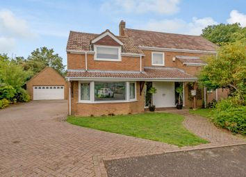 Thumbnail 4 bed detached house for sale in Ashley Road, Middleton, Market Harborough