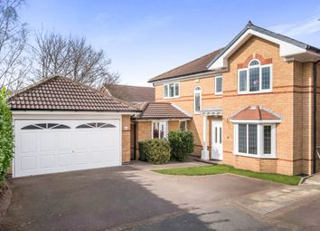 Thumbnail 4 bed detached house for sale in Broomhill Avenue, Worksop