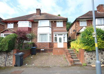 Thumbnail 3 bed semi-detached house to rent in Wheatsheaf Road, Edgbaston
