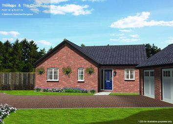 Thumbnail 3 bed detached bungalow for sale in Plot 16, Woods Place, Little Snoring, Norfolk