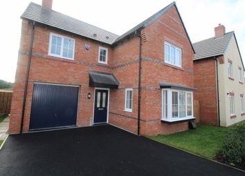 Thumbnail 4 bed detached house to rent in John Jobson Road, Shavington, Crewe