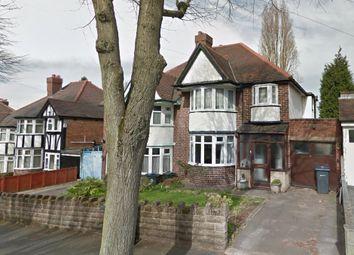 Thumbnail 3 bed semi-detached house to rent in Milverton Road, Erdington, Birmingham