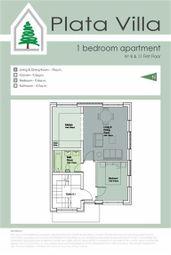 Thumbnail 1 bed apartment for sale in Plata Villa, Gibraltar, Gibraltar