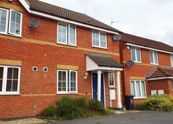 Thumbnail 3 bed end terrace house for sale in Tyburn Close, Bradgate Heights, Leicester, Leicestershire