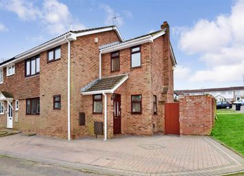 Thumbnail 4 bed semi-detached house for sale in Yew Tree Close, Lords Wood, Chatham, Kent