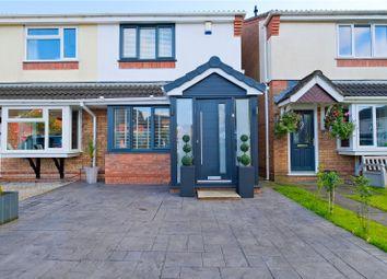 Thumbnail 3 bed semi-detached house for sale in Collingwood, Clayton Le Moors, Accrington, Lancashire