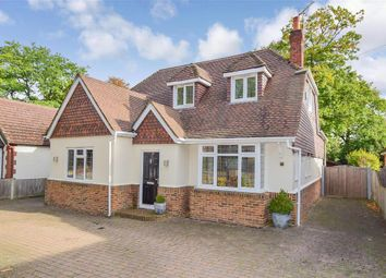 Thumbnail 3 bed detached house for sale in Edwin Road, Gillingham, Kent