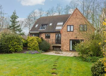 Thumbnail 4 bed detached house for sale in Mill Close, Peakirk, Peterborough