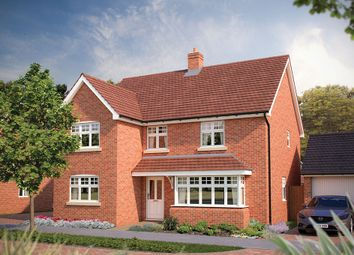 """Thumbnail 5 bed detached house for sale in """"The Chester"""" at Park Road, Hellingly, Hailsham"""